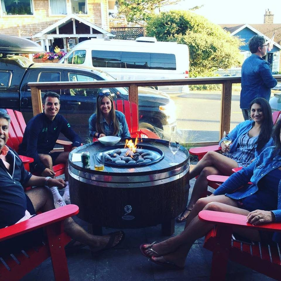 Firepits facing Laneda Avenue make The Winery At Manzanita a cozy hangout_submitted.jpg