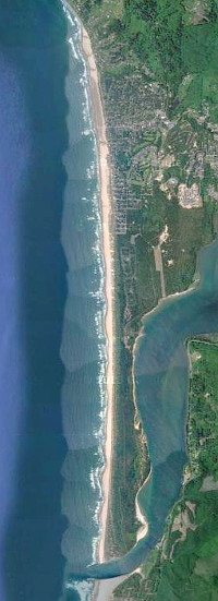 Aerial view of Manzanita