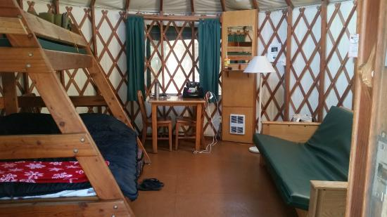 The history of yurts in coastal c&grounds dates back to 1993 when Craig Tutor then-Oregon State Parks Northwest Regional Manager came across a model on ... & No RV? No Tent? No Problem! u2013 Explore Manzanita!